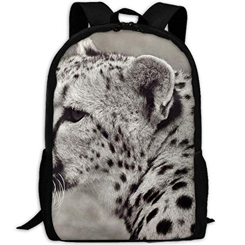 Cheetah Cat Animal Safari Nature Unisex Adult Unique Rucksack,School Casual Sports Book Bags,Durable Oxford Outdoor College Laptop Computer Shoulder Bags,Lightweight Travel Tagesrucksäcke