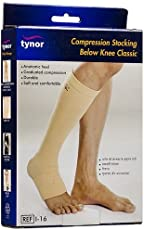 Tynor Compression Below Knee Stocking - Large