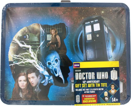 Doctor Who Exklusiv-Actionfigurenset: 1st & 11th Doctor Set mit Lunchbox