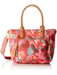 Oilily Damen M Carry All Schultertasche, 14 x 27 x 32 cm