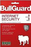 Bullguard Internet Security 2019 - Lizenz für 3 Jahre 5 Geräte! Windows|MacOS|Android [Online Code]