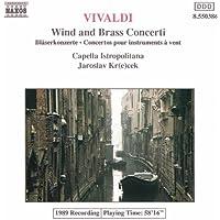 Vivaldi: Wind And Brass Concertos