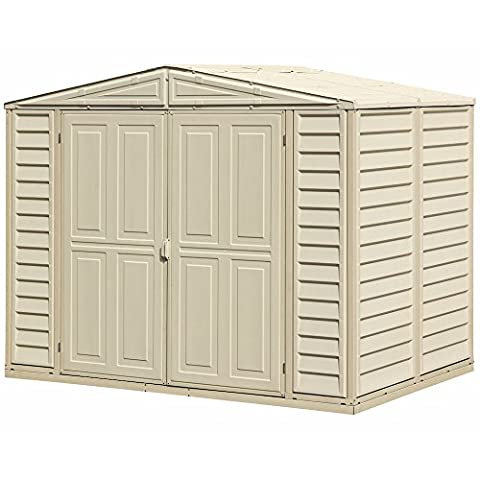 Duramax 00186 8 x 5.5 ft Duramate Shed - Beige