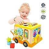 Cubo de Actividades de Madera – Juguete para Bebes y Niños de 1 y 2...