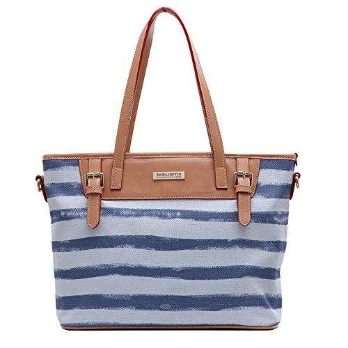 Parlontis® Borse Sacchetti della signora Borse a tracolla da donna Messenger Bag Casual versione coreana del trend Nylon panno-04 (aumento blu)