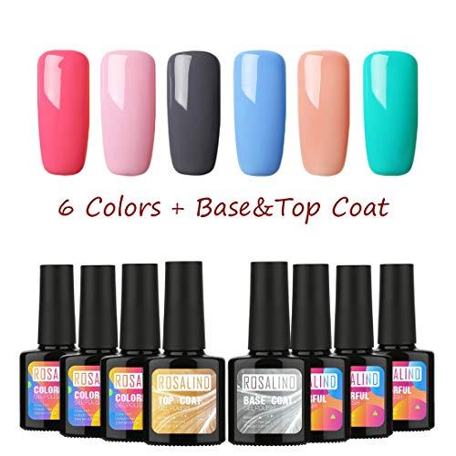 Rosalind - Esmalte uñas gel semipermanente UV Soak