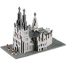 brixies 410190–Catedral de Colonia, 3d de puzzle, Alemania Edition, 1284piezas, nivel de dificultad 5para expertos, multicolor