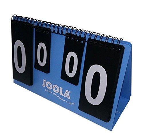 JOOLA Unisex- Erwachsene Piccolo Tischtennis Zählgerät, Blau, 23x14