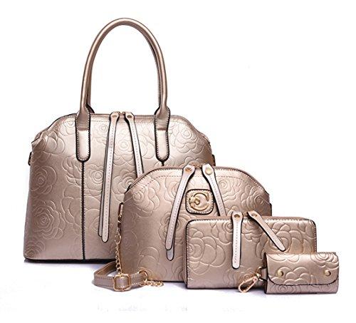 8a5dbf451cf634 ... Velours, Veloursleder, Wildleder, Tasche Gold. Keshi Pu Cool Damen  Handtaschen, Hobo-Bags, Schultertaschen, Beutel, Beuteltaschen,