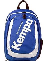 Kempa Mochila Azul 44x 16x 30cm–30L con texto impreso Nombre