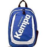 Kempa Rucksack blau mit Ballnetz Ballnetz 44 x 16 x 30 cm - 30L mit Aufdruck Name
