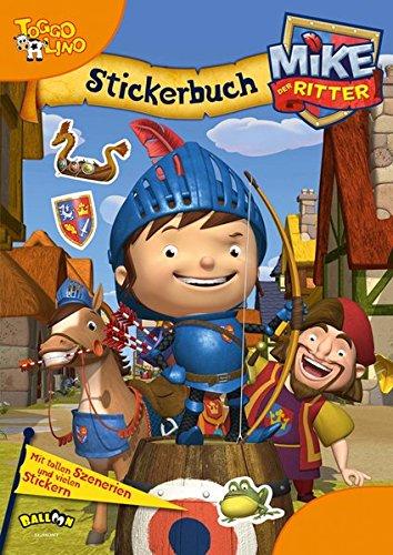 Mike der Ritter - Stickerbuch