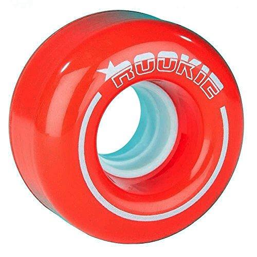Rookie Quad Wheels Wheels All Star (4Pack), Unisex Erwachsene, Unisex – Erwachsene, RKE-RSW-0100, Rot, 32mm