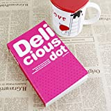 #10: ShopyBucket 200 Pages Delicious Dot Daily Notebook Colorful Memo Book Thicken Paper Note Pads Stationery Pocketbook 1Pcs(colour as par availablity)
