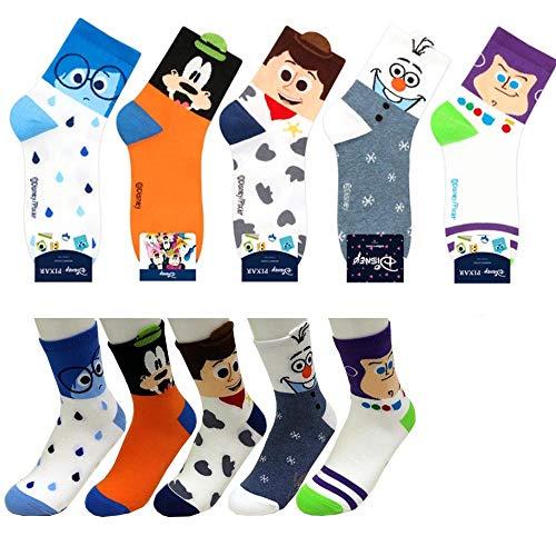 Buzz Lightyear Socken - Disney Charakter Mannschafts Socken mit Beutel