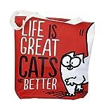 Close Up Simon's Cat Shopper Tasche