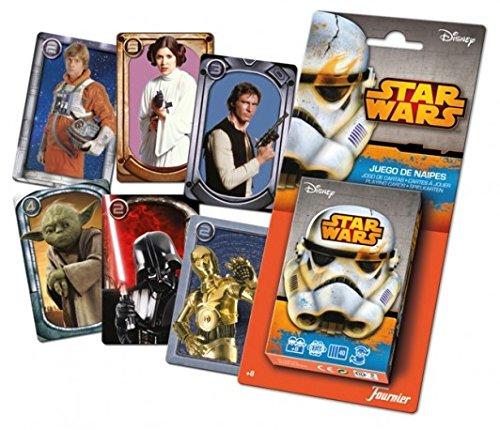 Star Wars - Baraja infantil con 40 cartas (Naipes Heraclio Fournier 10