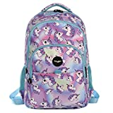 Best School Backpacks - FRINGOO® Girls Boys Multi-compartment School Backpack Waterproof Fits Review