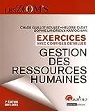 Gestion des ressources humaines 2015-2016