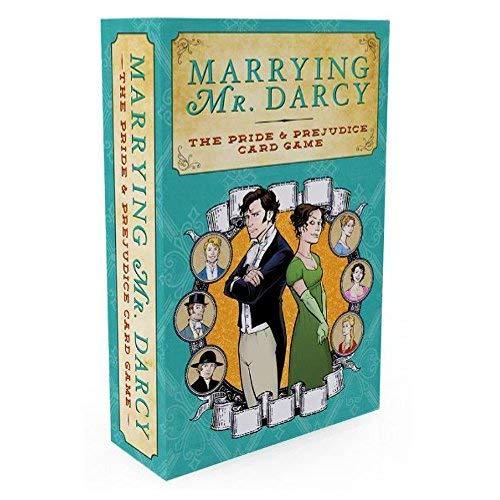 Game Salute - Juego de Cartas de Orgullo y Prejuicio Marryng Mr. Darcy