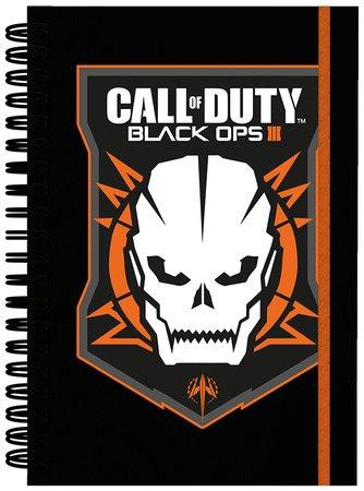 GB Eye Ltd, Call of Duty Black Ops 3, Logo, Cahier A5