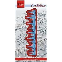 Marianne Design Creatables-Fustella effetto ghiaccioli, colore: blu
