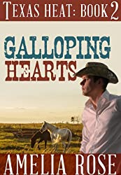 Galloping Hearts (Contemporary Cowboy Romance) (Texas Heat Book 2)