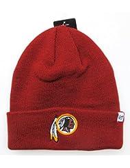 Washington Redskins Relief Rouge foncé Cuff Bonnet en tricot bonnet NFL