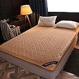 JI TA matras zak 3D ademend breien stof geheugen schuim matrassen 6CM hoogte dubbel 4 90x200cm B