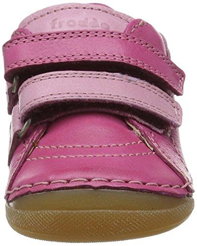 Froddo  G2130095-1, Jungen Sneaker Pink (Fuchsia)