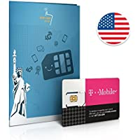 Prepaid SIM card USA - 10GB 4G/LTE DATA - Unlimited calls & texts within the USA - 30 Days