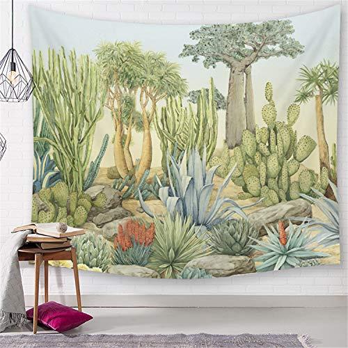 LYJZH Wanddekor Wandteppiche Wandbehänge Decke Böhmischen Bettdecke Abdeckung Hippie Strand Handtücher Schlafzimmer Wohnzimmer Plant Tapestry Shading 7 150 * 200cm