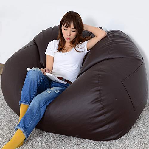 Rabbfay Erwachsene Größe Sitzsack Home Soft Lazy Sofa Gemütlicher Einzel- / Doppelstuhl Durable Furniture Lounge Sitzsack