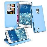 Samsung Galaxy NOTE EDGE Hülle in BLAU von Cadorabo -
