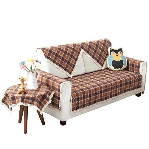 Schnittsofa deckt,europ?ische Sofa Abdeckung Pet-sofabezug Couch-abdeckung für schnitt Couch protector M?bel hussen Sofa legen sie abdeckung-A 70x70cm(28x28inch) (Pet Protector Schnitt)