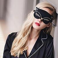 KingLeChange Sexy Fox natur Seide Schlaf Augenmaske bequem und Super Weichen Licht Blockieren - Ideal für Reisen... preisvergleich bei billige-tabletten.eu