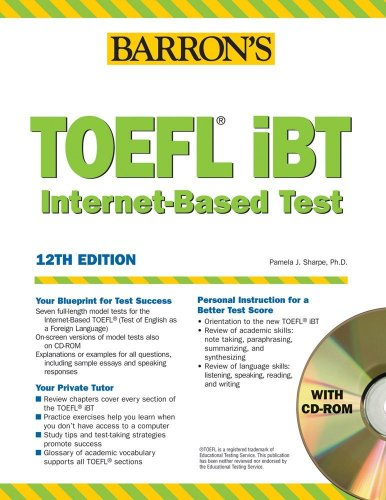 TOEFL iBT (Internet Based Test) 2008. (Lernmaterialien) (Barron's How to Prepare for...