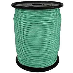PP Seil Polypropylenseil SH 3mm 100m Farbe Mint (2832) Geflochten