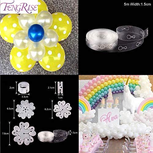 Tyro Fengrise Balloon Arch Kit plastica Palloncino Catena Clip Porta Accessori, Palloncino Baloons Festa di Compleanno Festa di Nozze Decorazione