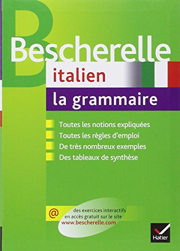 Bescherelle italien : La grammaire