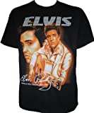 Elvis Presley The King Golden Years Rock n Roll Rockabilly Biker T-Shirt Unisex