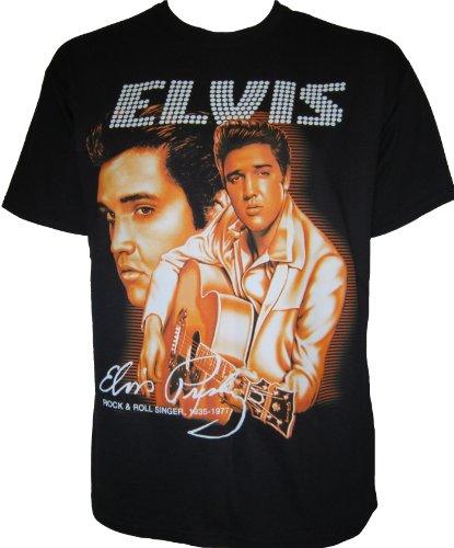 Elvis Presley Golden de la película El King de Rock and Roll Rockabilly años Motorista de Carreras T-Shirt Unisex