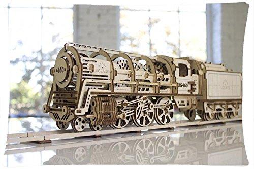 Custom Kopfkissen Lokomotive mit Tender ugears 460Leinen gebraucht kaufen  Wird an jeden Ort in Deutschland