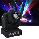 50W Moving Head LED, Bühne Effekt Lampe Disco Scheinwerfer DMX-512 RGBW mit 9/11 Kanal Master-Slave, Sound-Aktivierung, Automatikbetrieb für KTV Disco Club Party von ICOCO