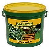 Amazon.de Pflanzenservice Beckmann im Garten Schnellkomposter mit Guano, 7,5 kg-Eimer, zur Beschleunigung der Kompostierung