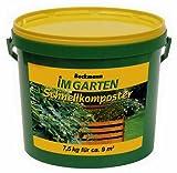 Beckmann im Garten Schnellkomposter mit Guano, 7,5 kg-Eimer, zur Beschleunigung der Kompostierung, plus 1 Paar Handschuhe gratis