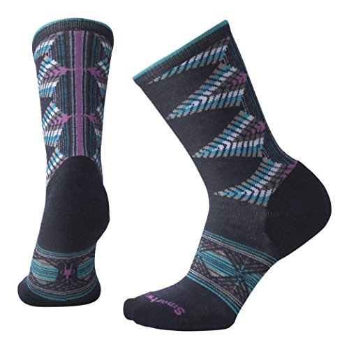 Smartwool, Women's Tiva Crew - Damen Socken,blau (Deep Navy Heather), M/M  (38-41 EU)