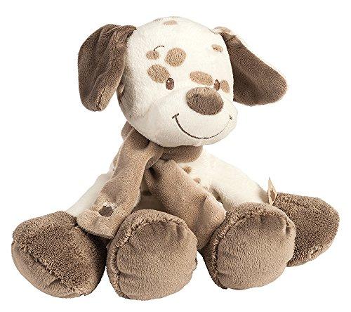 Nattou Kuscheltier für Babys, Mädchen und Jungen, 28 cm, beige - Max der Hund (Mädchen Kleine Hund Bett)