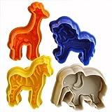 Il pacchetto include: 4diverse formine per biscotti (colore casuale)