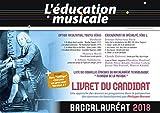 Baccalauréat 2018 : L'éducation musicale - Livret du candidat